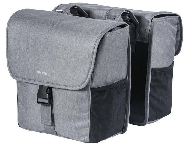 Basil Go - Sac porte-bagages - 32l gris